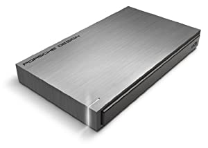 Lacie 500GB Porsche P9220 USB 3.0 Mobile Hard Drive Pc/Mac