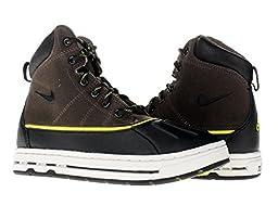 Nike Woodside (PS) Little Kids Boots 415079-003 Ironstone Black-Light Bone-High Voltage 12 M US