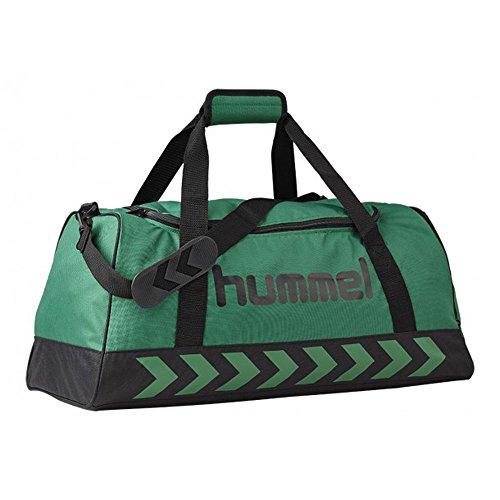 hummel-erwachsene-sporttasche-authentic-evergreen-black-60-x-27-x-31-cm-50-liter-40-957-6241