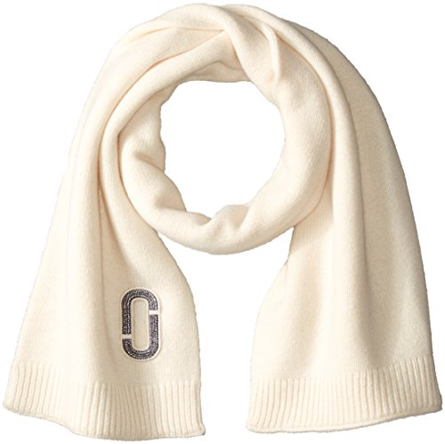 Marc-Jacobs-Womens-Classic-Cashmere-Scarf-In-Ivory