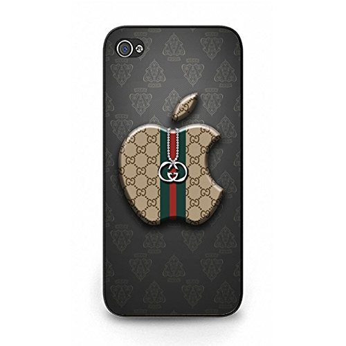 Custom Classical Design Gucci Logo Phone Case Plastic Phone Case for Iphone 5/5s Luxury Gucci Logo