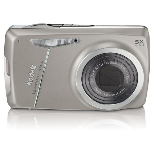 Kodak EasyShare M550 12 MP Digital Camera with 5x Wide Angle Optical Zoom and 2.7 Inch LCD (Dark Grey)
