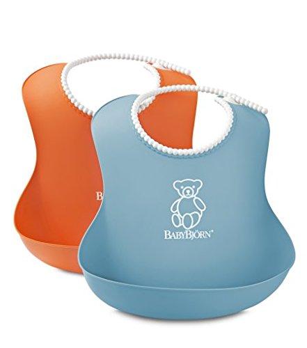 babybjorn-046207-weiches-latzchen-2-pack-orange-turkis