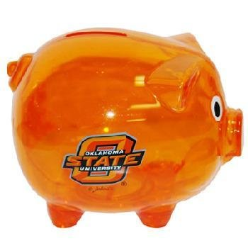 Oklahoma State University Bank Pig Plastic Orange Case Pack 42