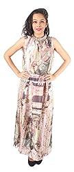 Tenn Women's Maxi Dress (PIGD11NSXS_X-Large_Multi)
