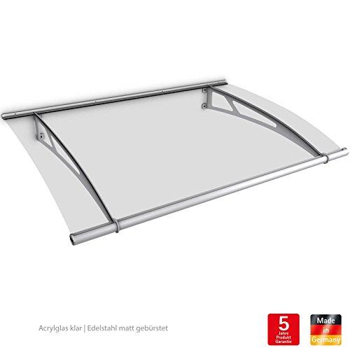 schulte vordach haust r acrylglas edelstahl 205 x 142 cm pultvordach xl. Black Bedroom Furniture Sets. Home Design Ideas