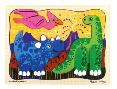 41954YQyu7L Cheap Price Melissa & Doug Prehistoric Pals   Layered Wood Puzzles