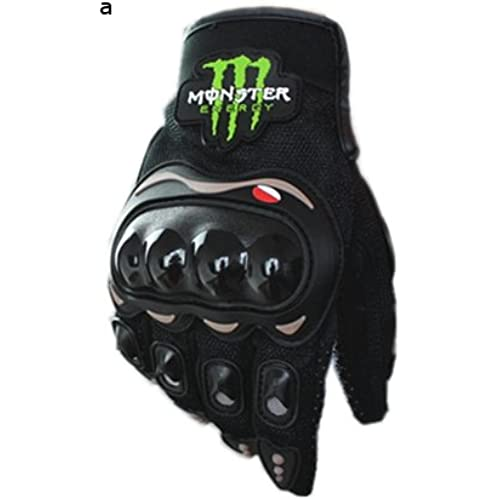 Monster Energy 몬스터 에너지 오토바이 글로브 검정 XL