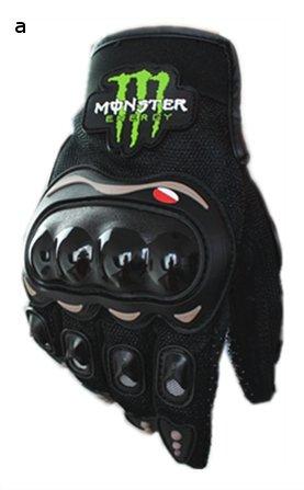 高品質 バイクグローブ Monster Energy モンスターエナジー 黒/L 並行輸入品 Dream Net Life -