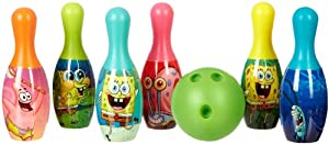 Nickelodeon SpongeBob SquarePants Bowling Set MULTI by Nickelodeon