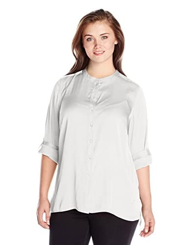 Vince Camuto Plus Women's Button Up Tunic