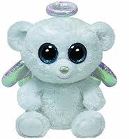 Ty Beanie Boos Halo White Bear Regular Plush by Ty Beanie Boos
