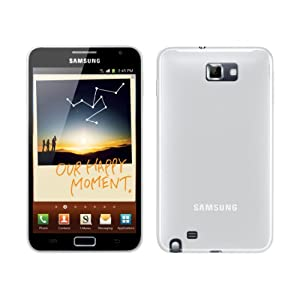 FoneM8 - Samsung Galaxy Note White Gel Skin Case Cover