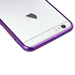 Crazy4Gadget Arc Edge Aluminium Metal Bumper Frame for iPhone 6 Plus & 6S Plus(Purple)