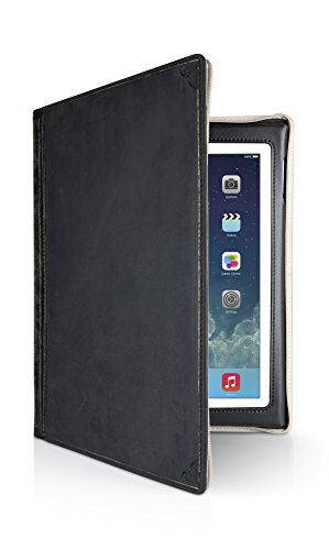 Twelve South Bookbook For Ipad - Vintage Leather Case For 2Nd, 3Rd, And 4Th Generation Ipad (Classic Black)