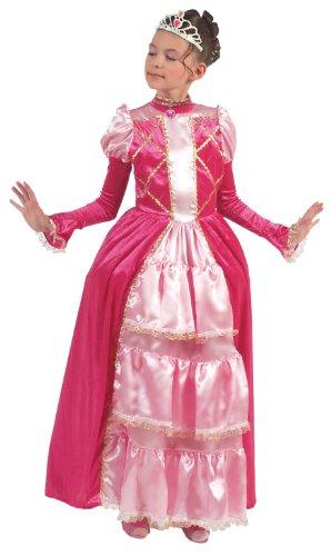 Imagen 1 de Framboise et Compagnie - Disfraz de marquesa con enagua, tiara y collar rosa (de 8/10 años)