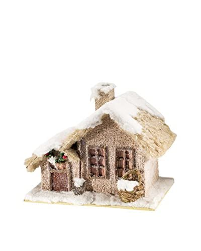 Christmas Chalet  Decorazione Natalizia Casetta Yuta Neve