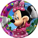 Baby Shower Party Supplies - Dinner Plates - Minnie's Clubhouse, 1