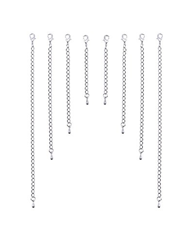 outus-stainless-steel-chain-extenders-set-for-necklace-bracelet-jewelry-8-pieces