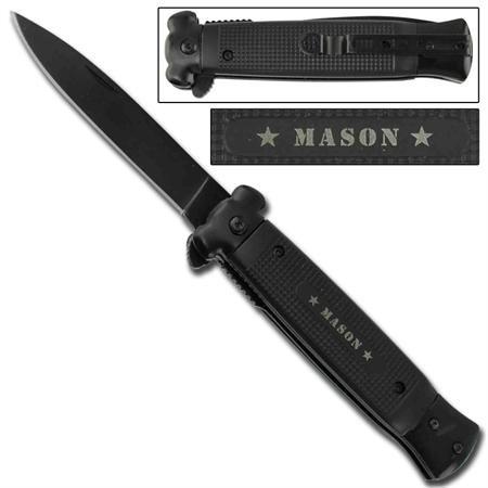 Striker Spring Assisted Knife - Masonic