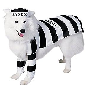 Prison Dog Pet Costume Size Medium
