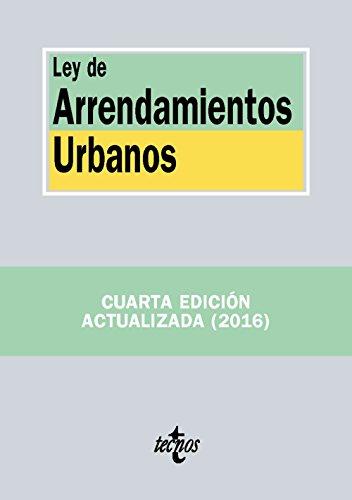 Ley De Arrendamientos Urbanos (Derecho - Biblioteca De Textos Legales)