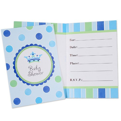 LITTLE PRINCE FOLDED INVITATIONS 8 COUNT
