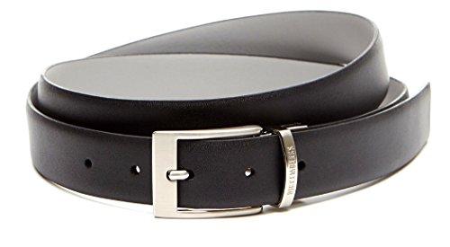 Bikkembergs Cintura Uomo Doubleface Black Grey_L