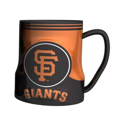 Mlb San Francisco Giants Sculpted Game Time Coffee Mug, 18-Ounce