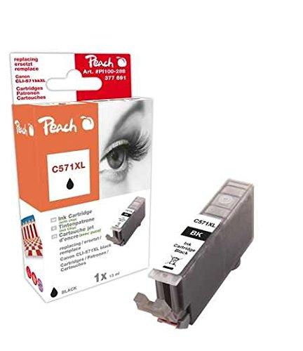Peach C571 phbk Kompatibel Tintenpatronen Pack of 1, Schwarz