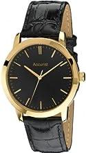 Comprar Accurist MS671B - Reloj para hombres, correa de cuero color negro