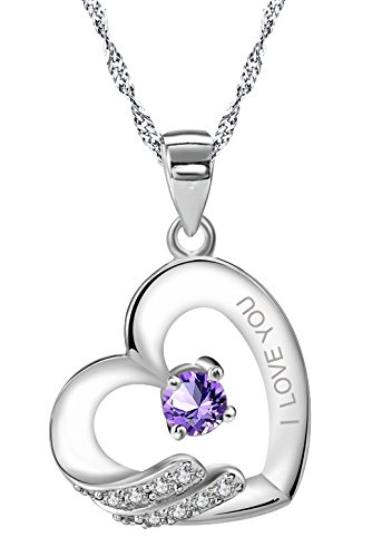 sterling-silver-purple-paved-white-cubic-zirconias-i-love-you-pendant-necklace-for-women