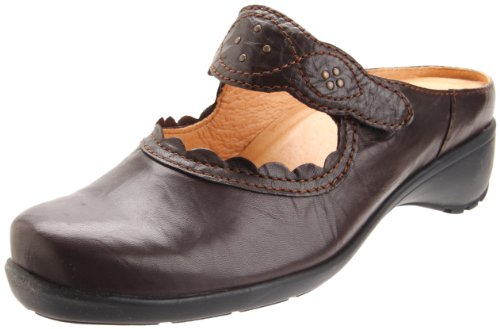 Sanita Women's Thea Clog,Brown,40 EU/9.5-10 M US