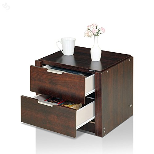 Royal Oak Milan BedSide Table (Honey Brown)