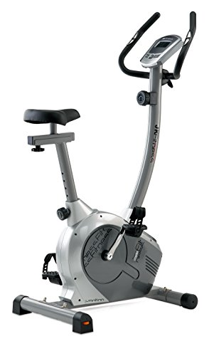 JK Fitness Tekna 1655, Cyclette Magnetica, Argento/Grigio