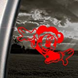 Disney Red Decal Mickey Minnie Mouse Truck Window Red Sticker