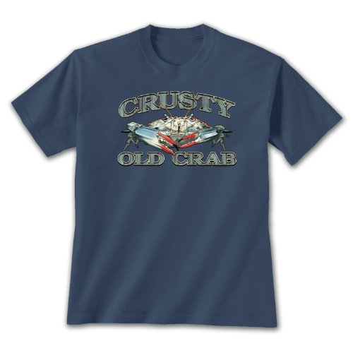 Crusty Old Crab T-shirt - Size 2XL