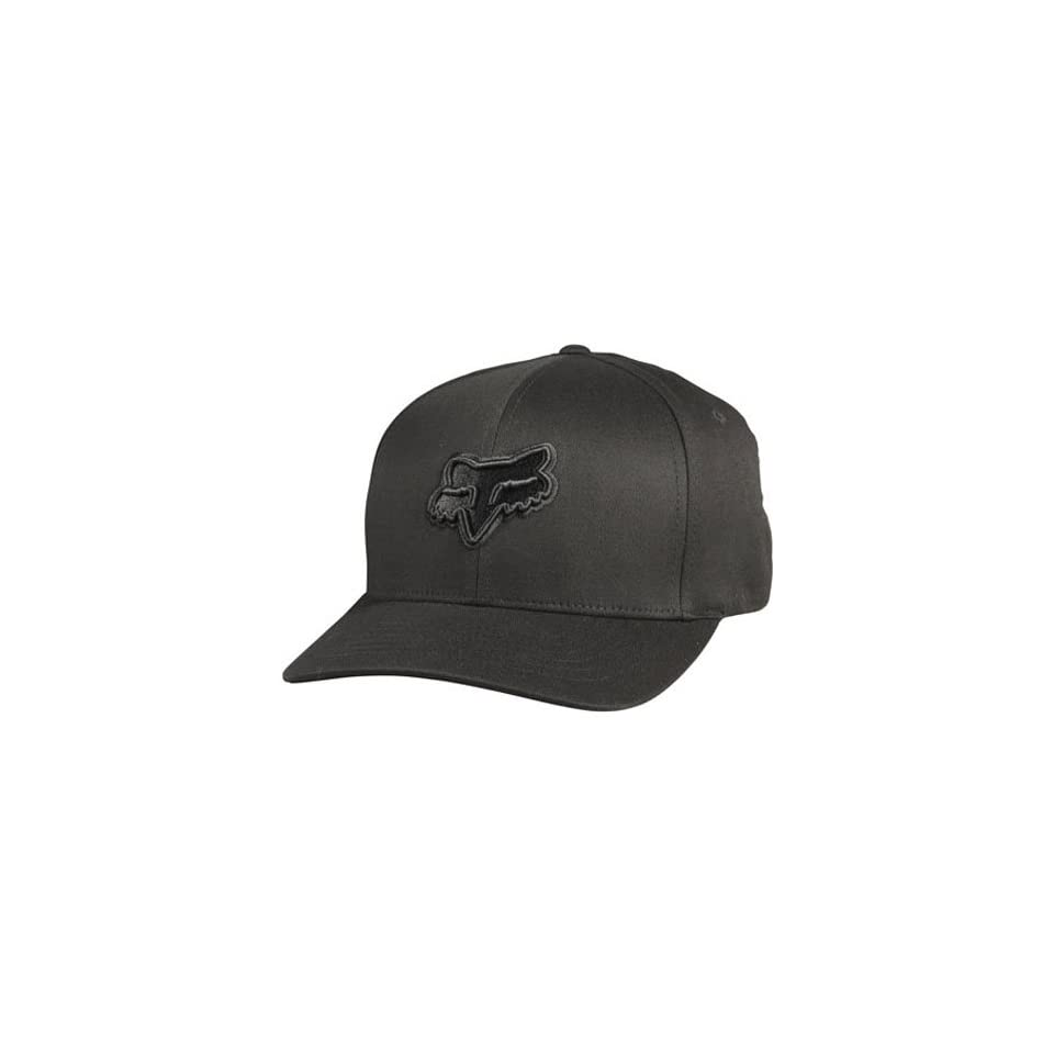 Fox Racing Suprano Mens Flexfit Fashion Hat/Cap   Color Black/Grey, Size X Small/Small