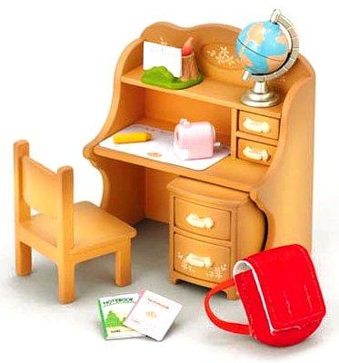 Sylvanian Families study desk Settoka -309 (japan import) by Epoch - 1