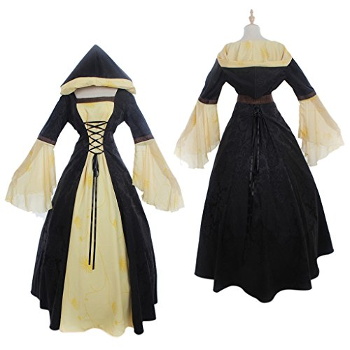 CosplayDiy Women's Medieval Victorian Ball Gowns Fancy Dress Costume XXXL (Fancy Dress Xxxl)