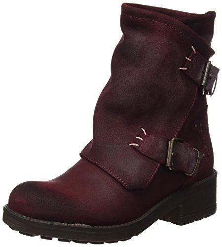 CoolwayBLONDY - Stivali a metà polpaccio con imbottitura leggera Donna , Rosso (Rot (BUR)), 37