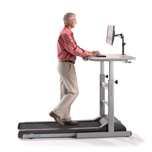 Lifespan Fitness TR1200-DT5 Treadmill Desk Combination