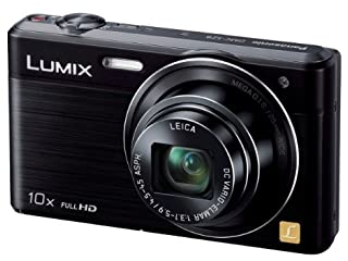 Panasonic デジタルカメラ ルミックス SZ9 光学10倍 ブラック DMC-SZ9-K