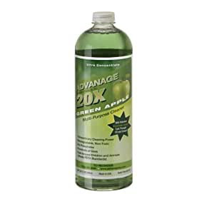 ADVANAGE 20X Multi-Purpose Cleaner Green Apple - Manufacturer Direct - 20X is Our Newest Formula!