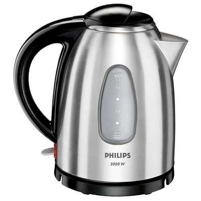 Philips HD4666/20 Metal Kettle - Brushed Stainless Steel 1.7lt 3000w