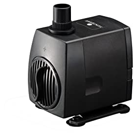 Sunterra 137016 Extra Large Fountain Pump, 320 GPH, Black