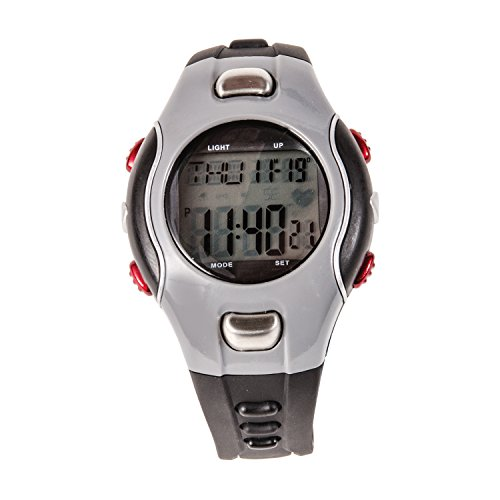 HealthSmart Fitness Digital Heart Rate Monitor Watch, For ...