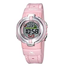 buy Children Watch Male Watch Waterproof Sports Watch Girl / Running High School Students Watch Electronic Watch-Pink