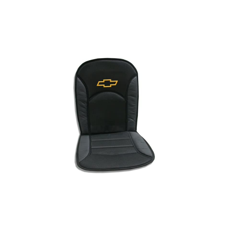 Terrific Chevy Bowtie Universal Sideless Seat Cover W Head Rest On Andrewgaddart Wooden Chair Designs For Living Room Andrewgaddartcom