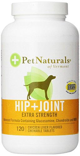Hip And Joint Extra Strength For Dogs Chewable Tablets - 120 Ea, 6 Pack